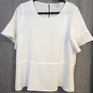 Madewell White Blouse